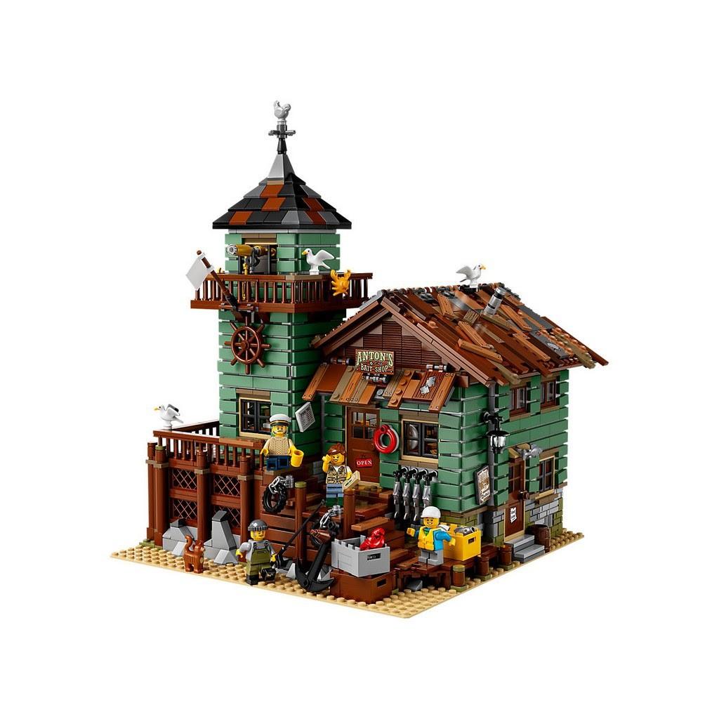 現貨 LEGO 21310 IDEAS  Old Fishing Store 老漁屋 全新未拆  正版貨