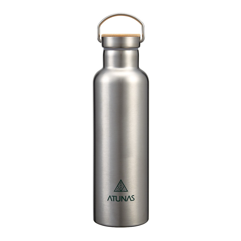 【ATUNAS 歐都納】不鏽鋼運動真空保溫瓶750ML (A1KTBB07N 食品級304/寬口/雙層真空/提環)