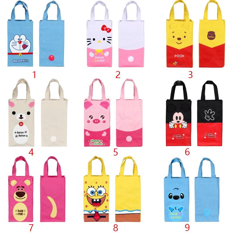 特價 哆啦A夢 KT 美樂蒂 維尼 蛋黃哥 史迪仔 龍貓 熊大 水壺袋 立體手提袋 水杯袋 冰霸杯袋 雨傘袋