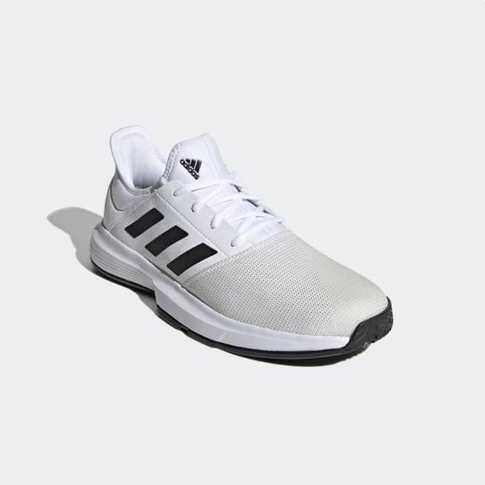 ADIDAS 網球鞋 運動鞋 GAMECOURT FU8111 白 贈護腕 20FW【樂買網】