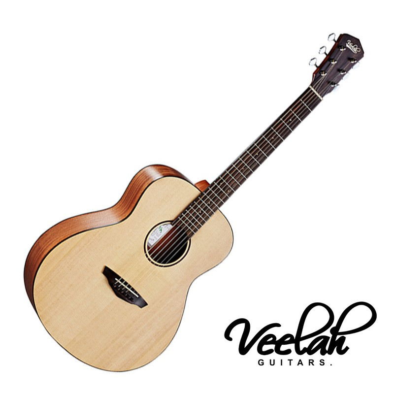 Veelah Mini Camper M 旅行吉他36吋 小吉他 民謠吉他 雲杉單板 MC-M -【黃石樂器】
