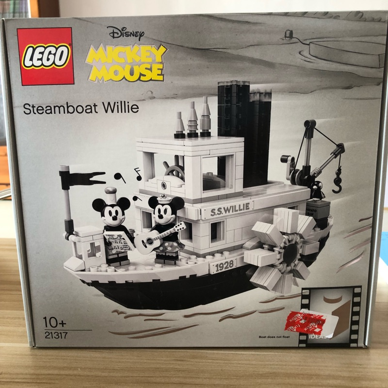 樂高 LEGO ideas 21317 steamboat willie 蒸汽威利號