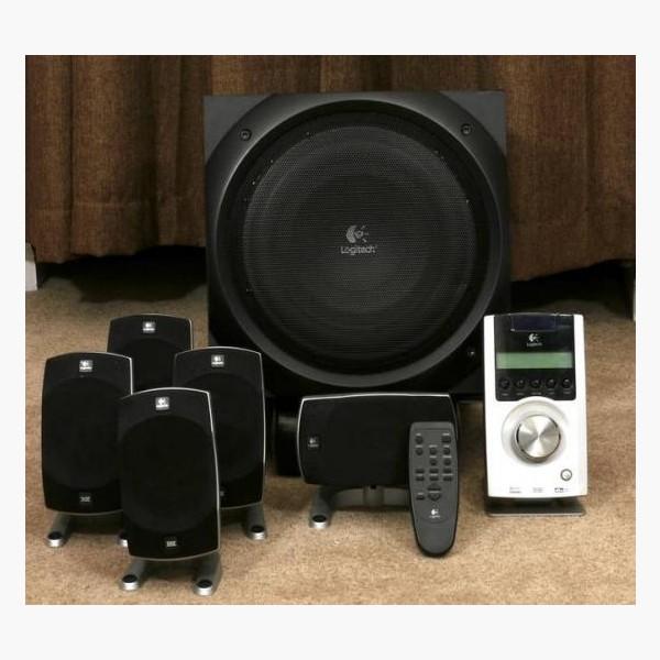 Logitech 羅技 Z5500 5.1 Digital 揚聲系統-THX專業劇院認證(總輸出功率:500瓦 RMS)