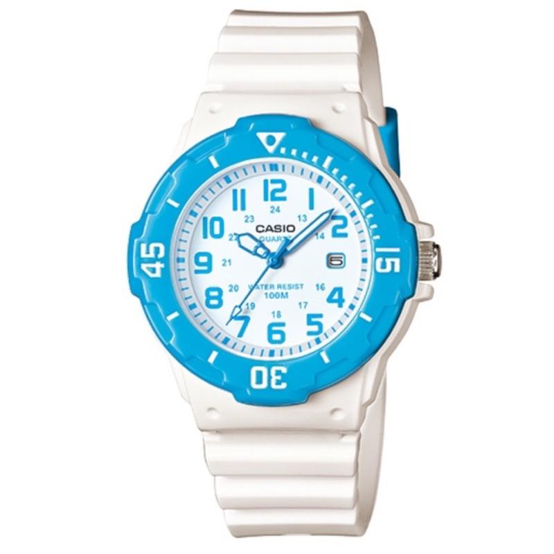 卡西歐CASIO外觀設計以潛水風格為概念的女性運動風錶款LRW-200H.LRW-200H-2B.LRW-200
