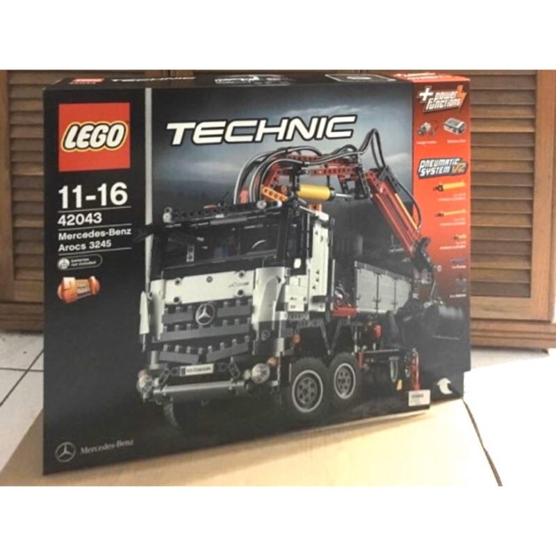 樂高Lego/42043/賓士貨卡