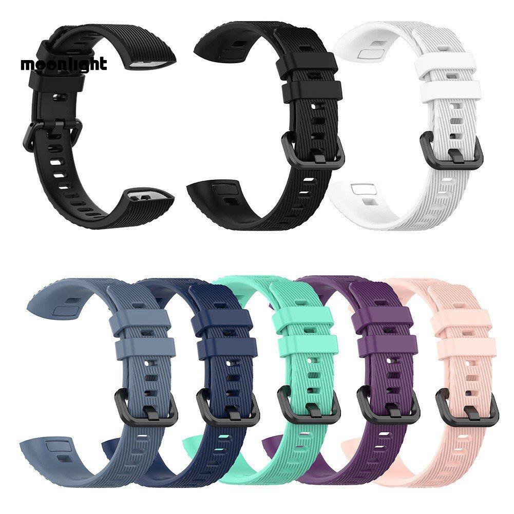 ▶ML 適用於 HUAWEI Band 3 Pro 智能手環 矽膠更換錶帶