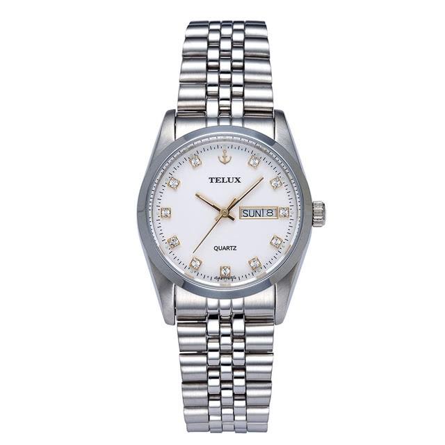 [缺貨中]台灣品牌手錶腕錶【TELUX鐵力士】伯爵系列經典男腕錶手錶36mm另有女款台灣製造石英錶250120W-W02