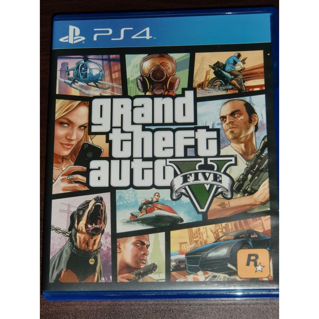 PS4 俠盜獵車手5 中文版 二手 Grand Thief Auto GTA5 GTAV