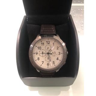 ARMANI EXCHANGE 三眼計時錶-皮錶帶 桃園市
