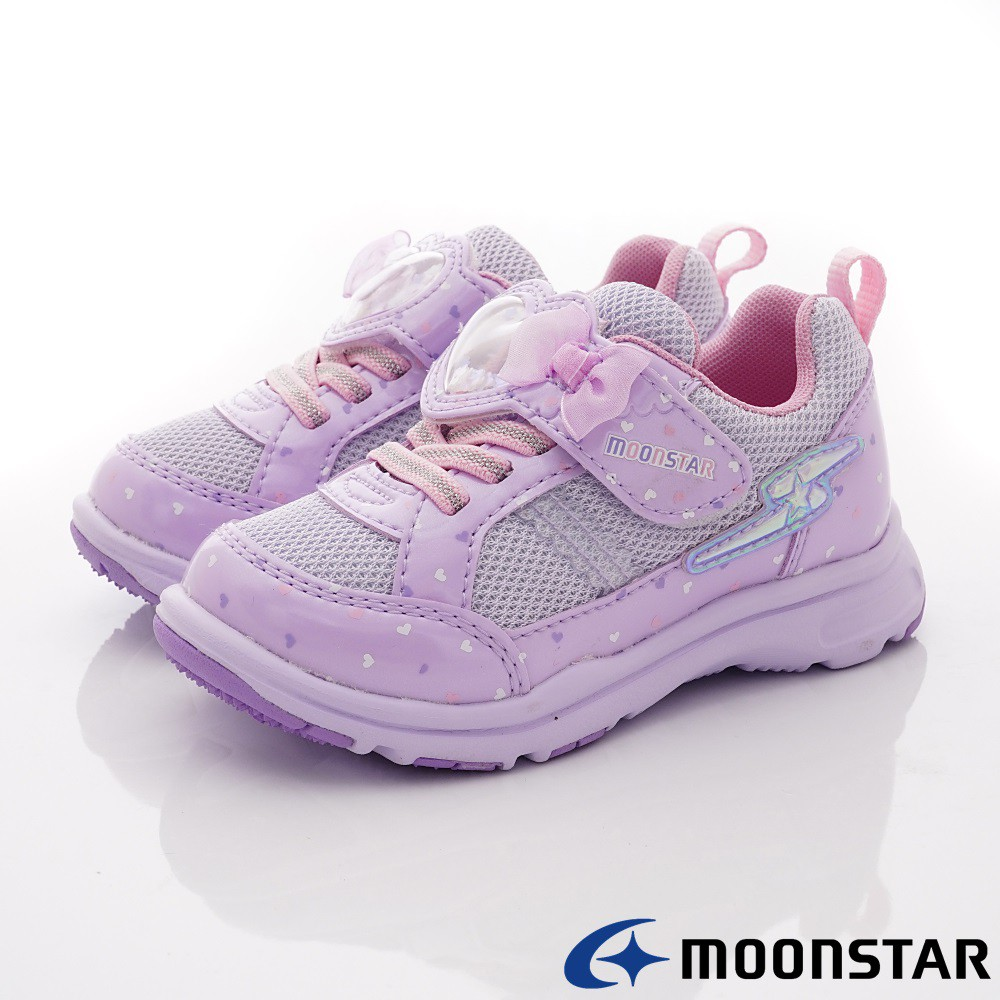 日本月星Moonstar機能童鞋 SSK夢幻系列10129紫(中小童段)