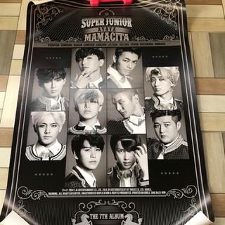 Super Junior 七輯 MAMACITA /  THIS IS LOVE 專輯海報 官方週邊 SJ