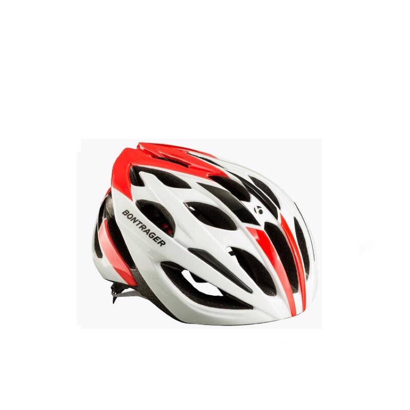 KB單車 BONTRAGER HLM STARVOS 紅白安全帽 L 自行車安全帽 腳踏車安全帽 滑板安全帽