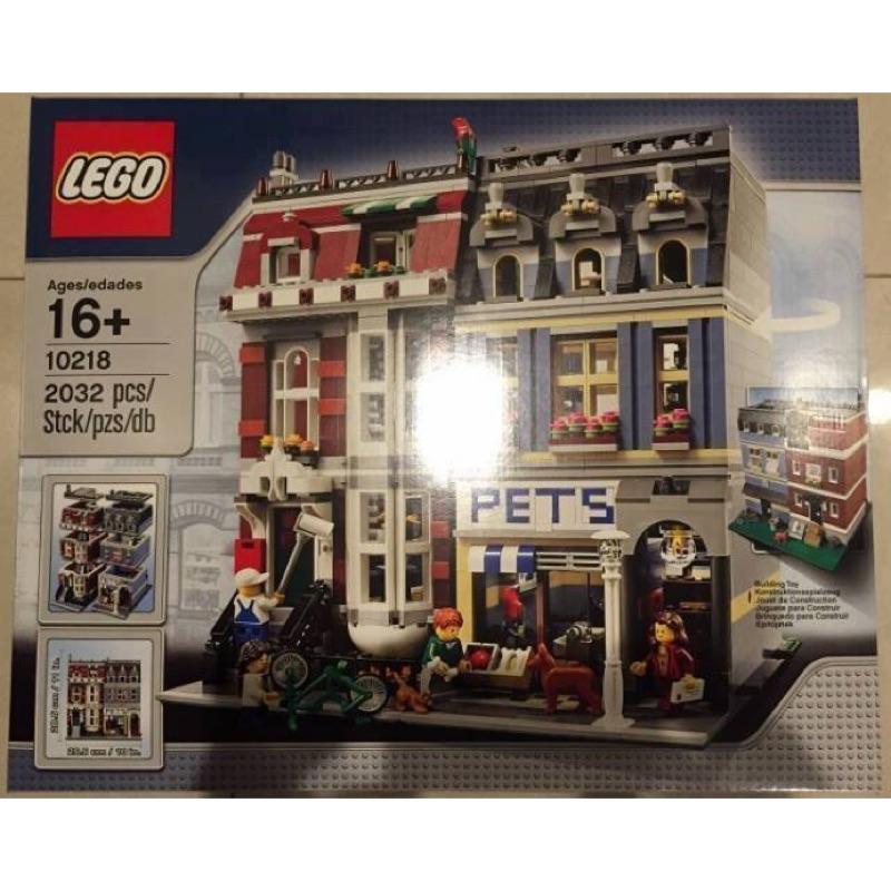 LEGO 10218 寵物店