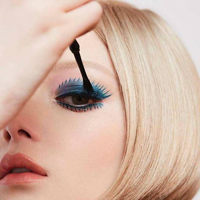 現貨日本帶回 ANNA SUI安娜蘇 魔法掃帚羽睫眼線膠 #100 藍色