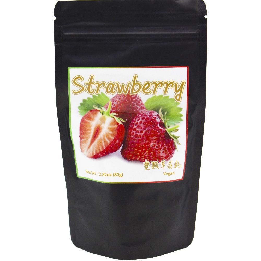 【亨源生機】整顆草莓乾 80g/袋
