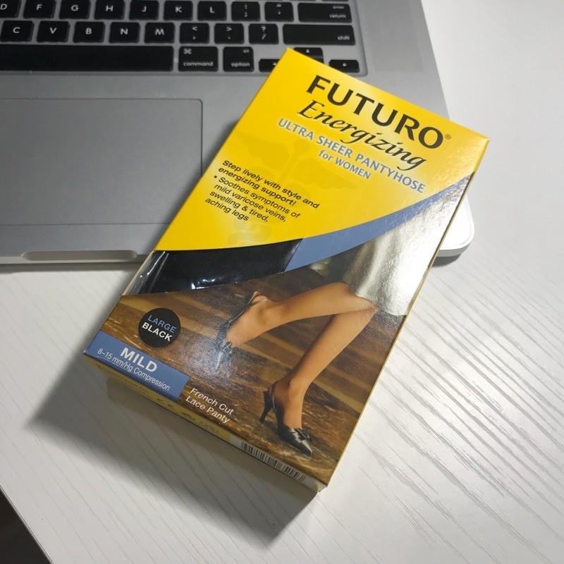 全新公司現貨 ''出清 買二送一'' 3M FUTURO™ Energizing 醫療用彈性襪 黑/膚