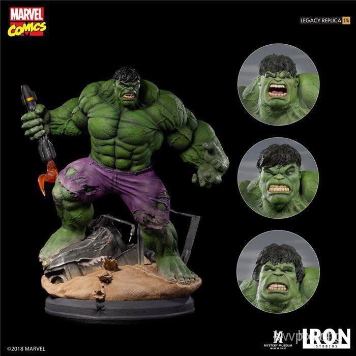 Iron Studios Marvel 綠巨人 浩克 Hulk  雕像