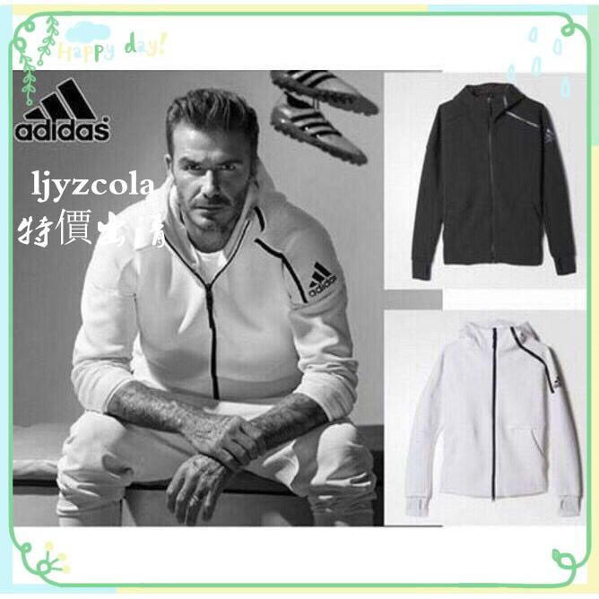 Ocultación alarma País  現貨(支持單件銷售)外套+褲子B48878 Adidas ZNE HOODY 運動外套運動 ...