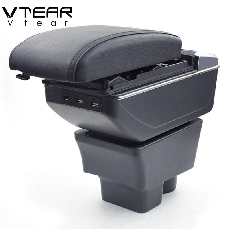 斯柯達法比亞 Skoda Fabia combi MK2 MK3 2008-2020 中央控制台扶手箱儲物箱