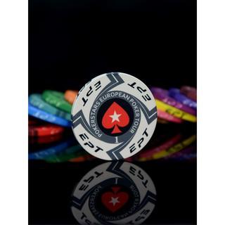 【零售】EPT陶瓷籌碼  無面額籌碼 德州撲克 桌布積分幣 麻將賭場專用 定制卡片獎勵代幣 臺南市