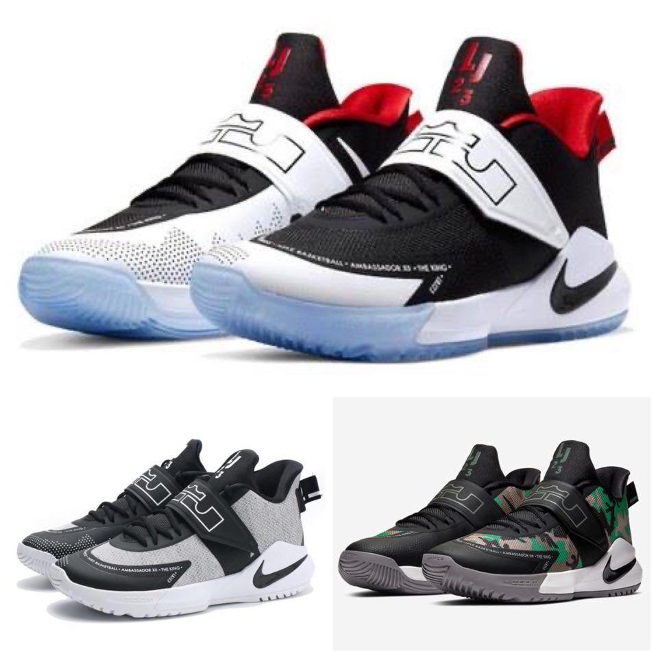 Nike LeBron Ambassador12 Camo BQ5436-004 男 籃球鞋