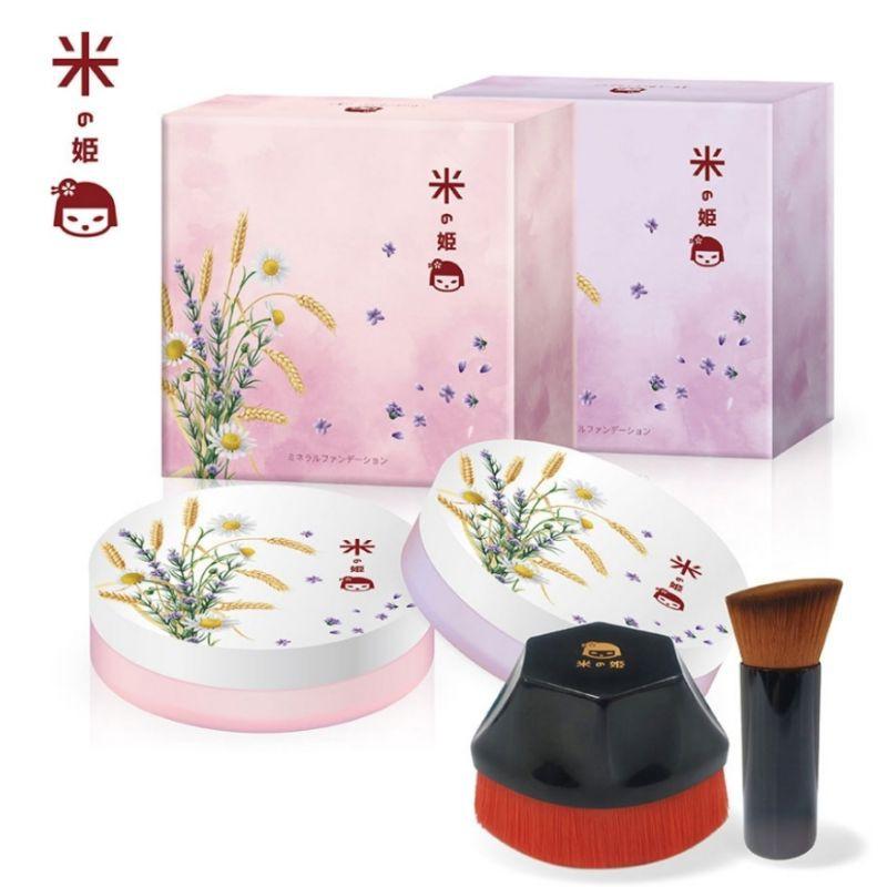 就愛漂釀-超想試用系列/粉底1-日本米之姬天然植萃抗老防曬養膚粉底