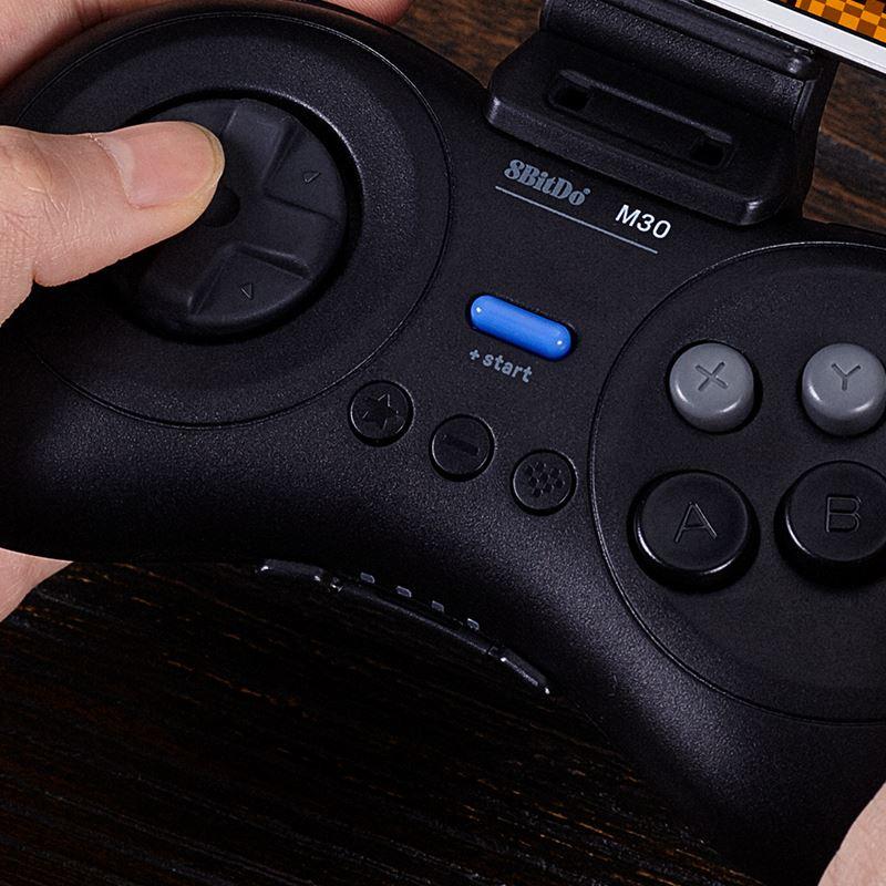 『熱銷 現貨 速發』手柄8BitDo八位堂M30藍牙版手柄無線手機PC電腦任天堂NS Switch Lite遊戲機ste