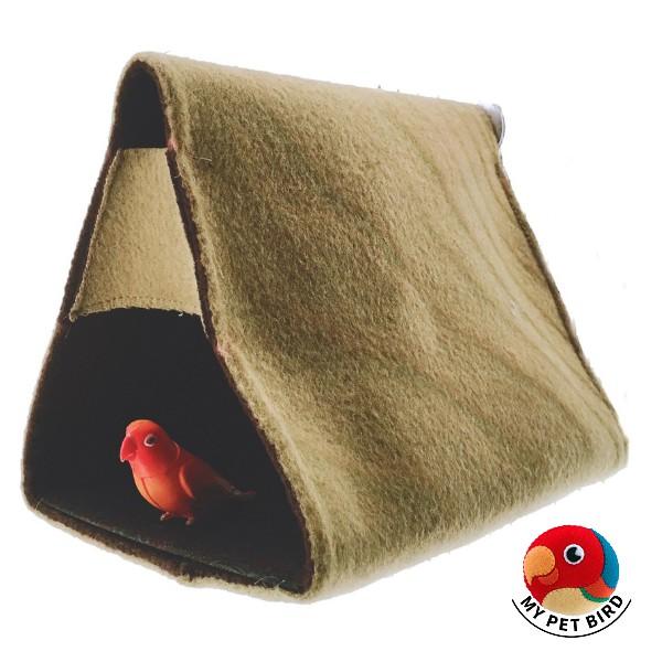 MY PET BIRD 羊毛料鸚鵡睡窩 W400