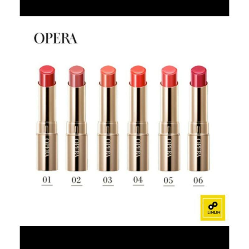 (全新現貨)OPERA渲漾水色唇膏06玫紅/102限定色