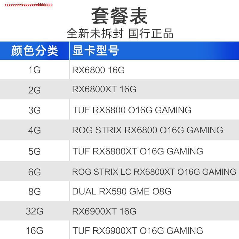 ┅現貨 華碩AMD Radeon RX6800/RX6800XT 16G 水冷臺式機獨立顯卡