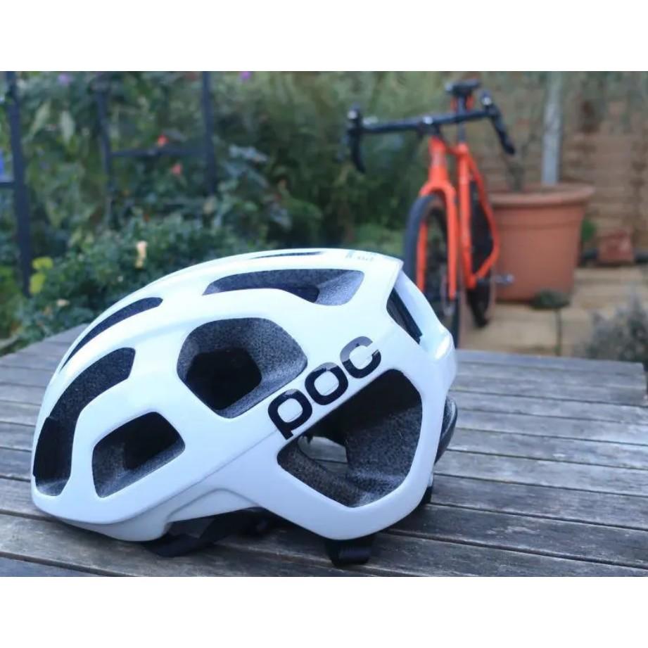 POC Octal MIPS 亮光白 自行車 安全帽 安全帽