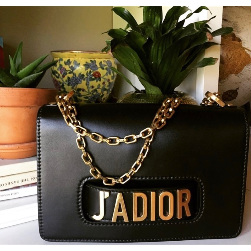 Dior Jadior鏈包 (大款)二手近全新正品