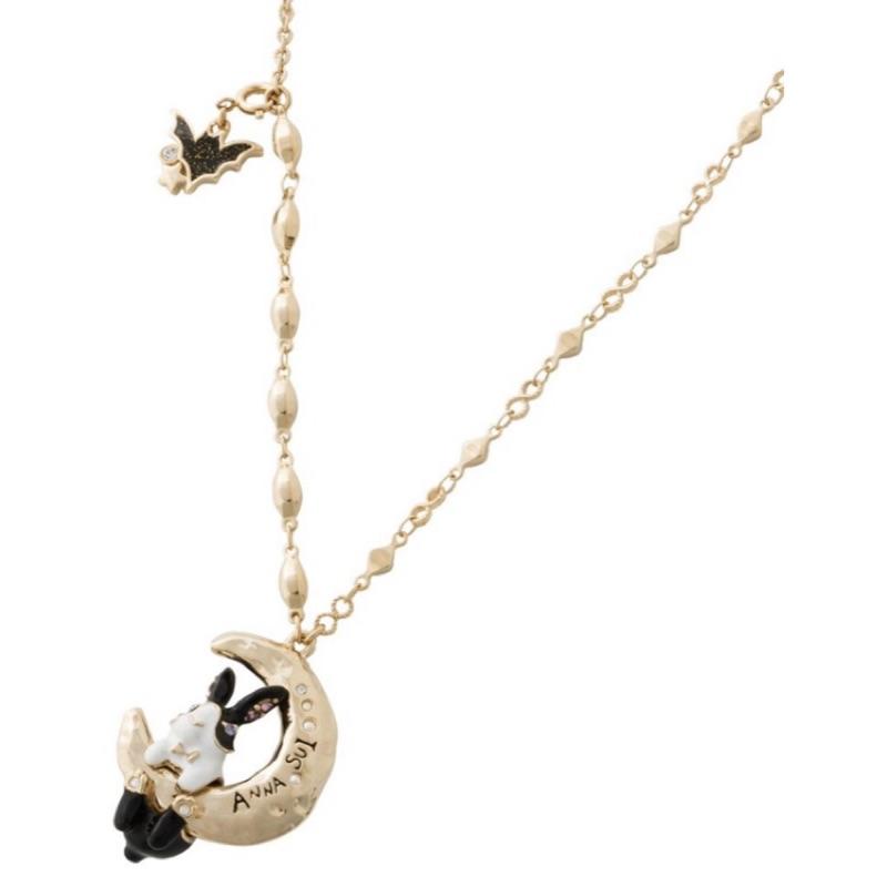 原價6180元 絕版 Anna sui 安娜蘇 月兔 項鍊 童話樂園 鑽石 秋冬