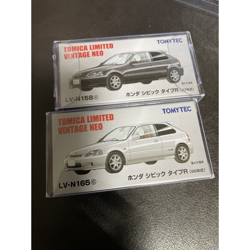 TOMICA 多美 tomytec TLV Honda Civic type