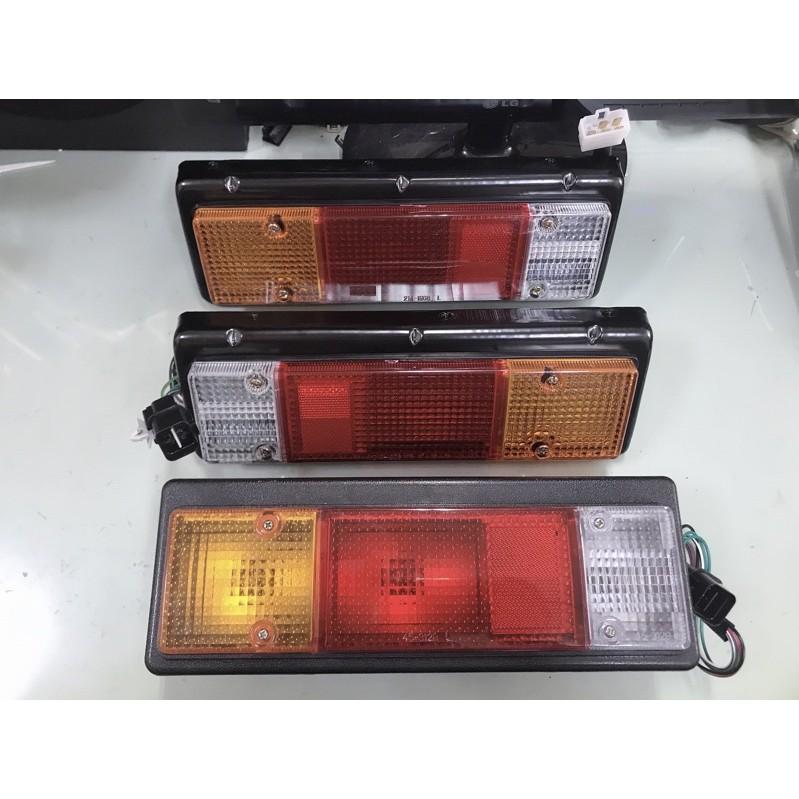 三菱 3.5 CANTER 堅達 後燈 尾燈 方向燈 車燈 煞車燈 轉向燈 倒車燈