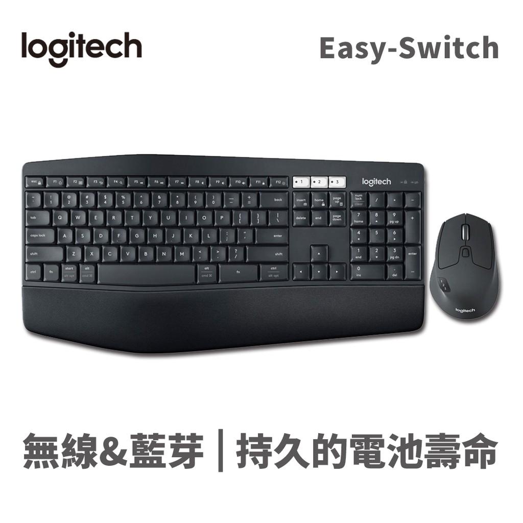 Logitech 羅技 黑 MK850 多工 無線 鍵盤滑鼠組 USB