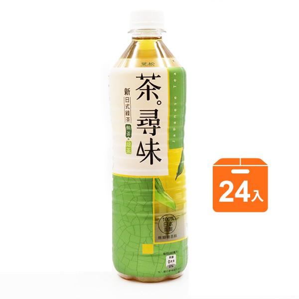黑松茶尋味新日式綠茶590ml x24入團購組