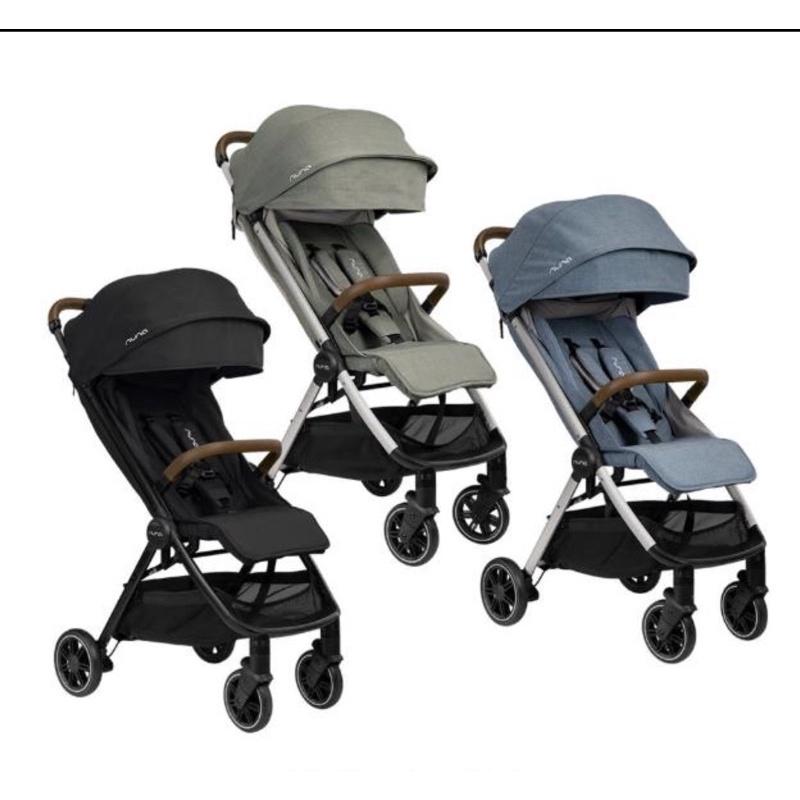 《nuna》全新trvl 嬰兒推車 加贈兩用涼墊 蚊帳 雨罩 收納袋