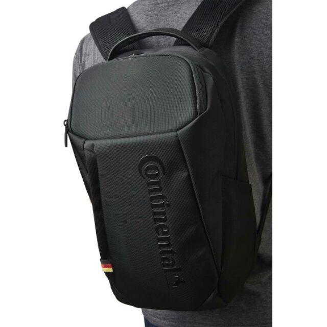 德國馬牌限定設計款Continental 多功能經典背包硬殼電腦包後背包黑色