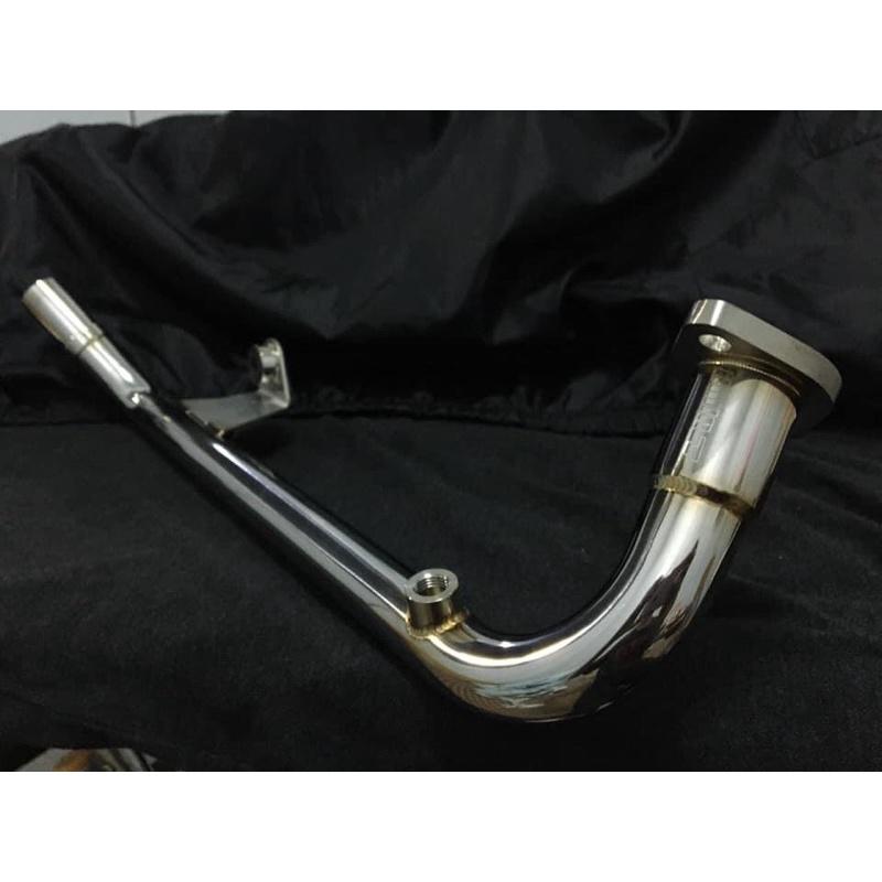 CLUB 1    KRV 排氣管 手工燒製前管 不銹鋼前段 排氣管前段 前段 (非巴風特)