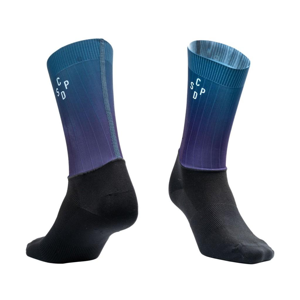 ▼樂威單車▼CSPD Naked Socks.CSPD單車襪.CSPD車衣.CSPD Socks.騎行襪 (藍)