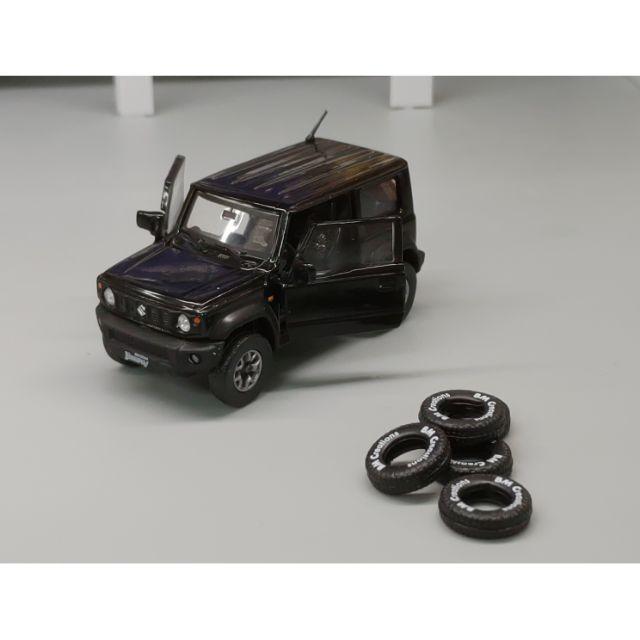 BM Creation 1/64 模型車 Suzuki Jimny Sierra 黑色款