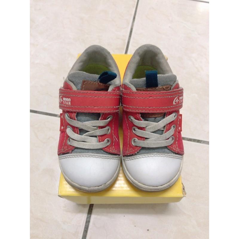 日本 月星Moonstar童鞋 布鞋(二手)