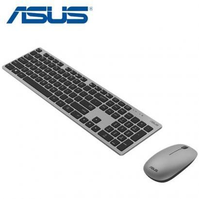 【曜買電腦&鍵盤】華碩 W5000 無線鍵盤滑鼠組-灰色