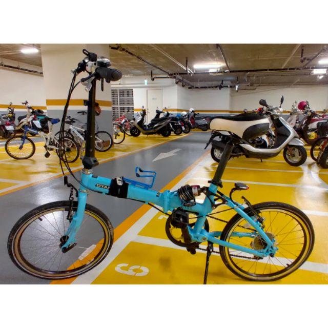 毆亞馬OYAMA二手A168折疊腳踏車單車