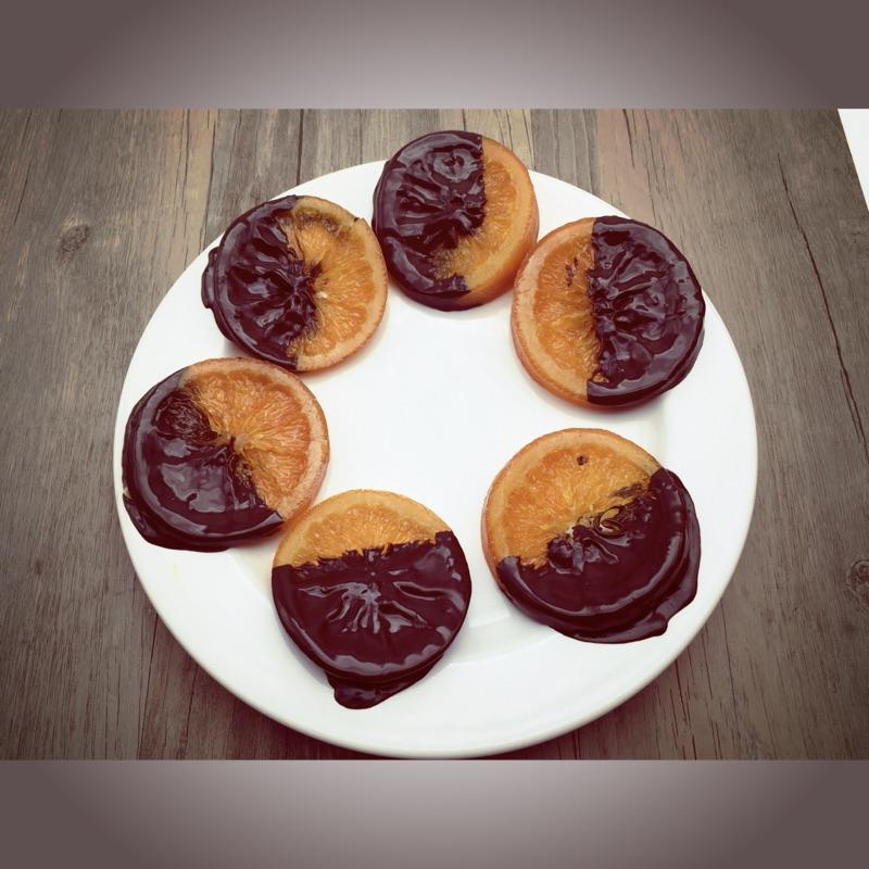 手工橙片巧克力