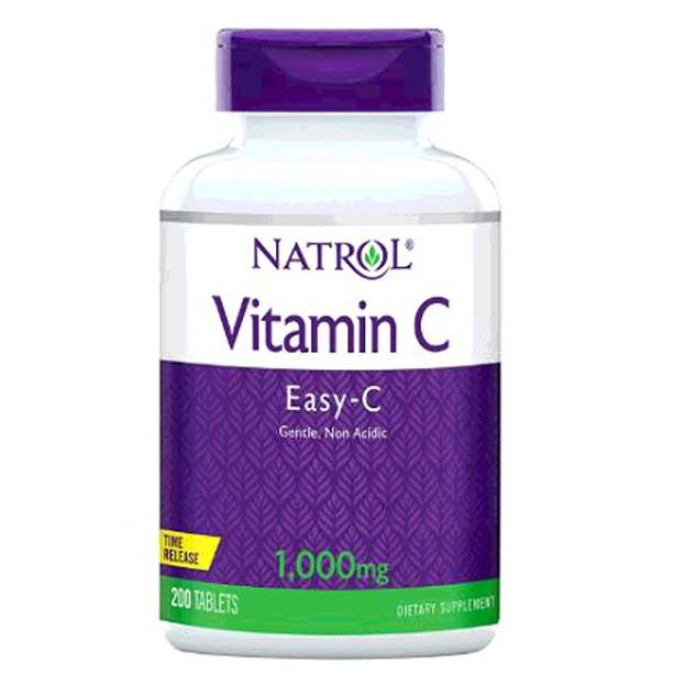 Natrol 納妥維生素C 1000毫克緩釋錠(食品) 200錠 W224443
