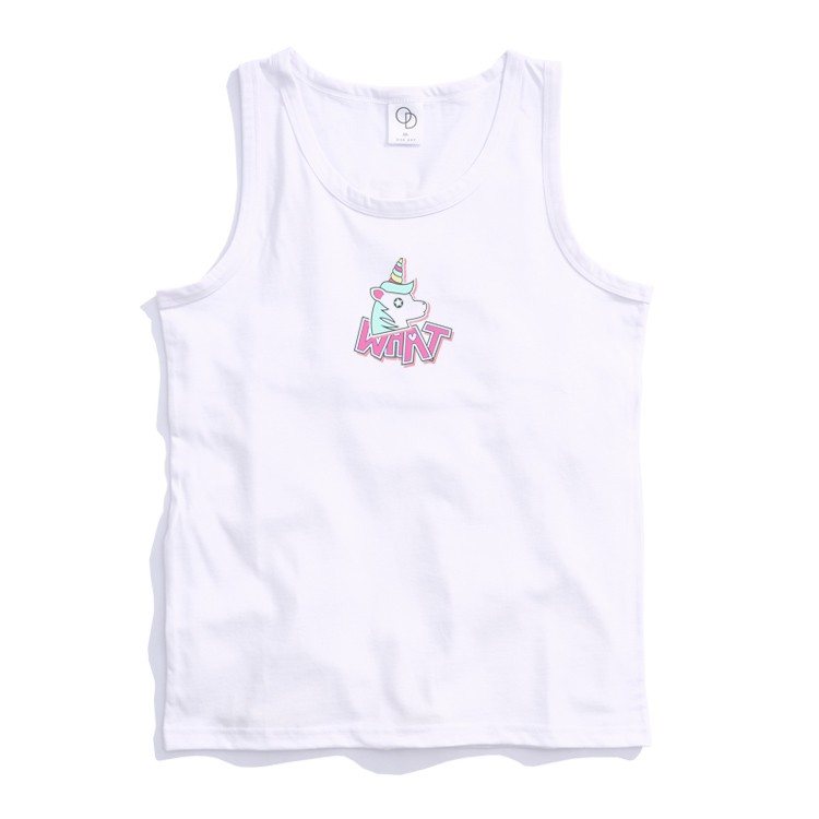 ONE DAY 台灣製 162C333 素背心 寬鬆衣服 短袖衣服 衣服 T恤 短T 素T 寬鬆短袖 背心 透氣背心