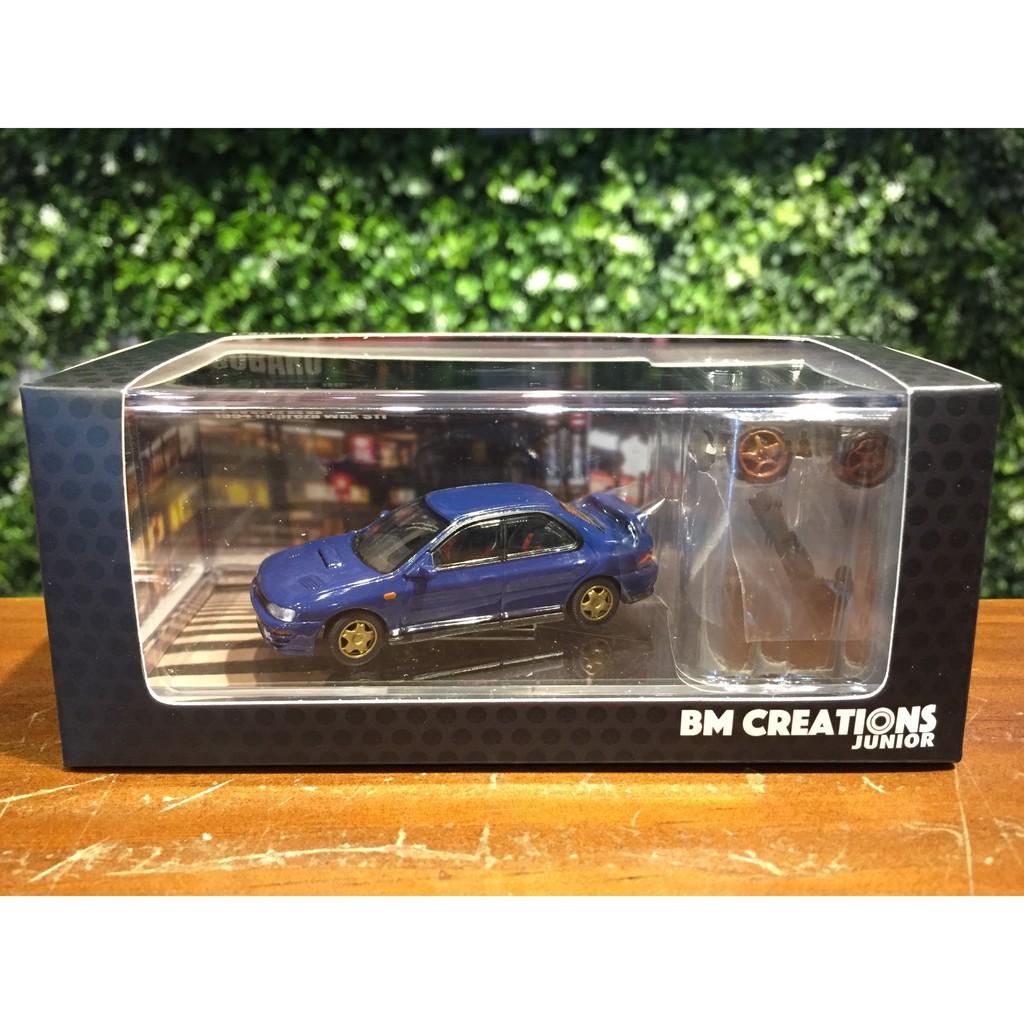 1/64 BM Creations Subaru Impreza WRX STi Blue 64B0059【MGM】