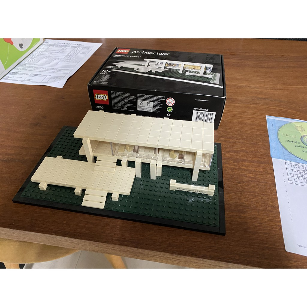 lego 21009 Architecture 建築系列 范斯沃斯別墅